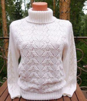 Красивейший узор для пуловера