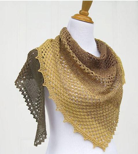 Красивая шаль