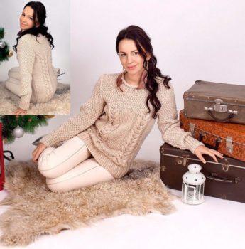 pulover-s-jemciujnim-uzorom-foto